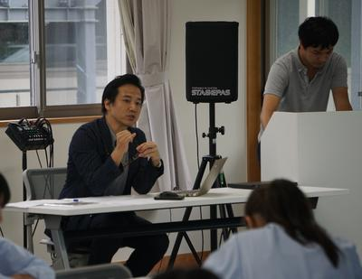 高橋様より台湾のことやプロジェクトの説明をお聞きしました